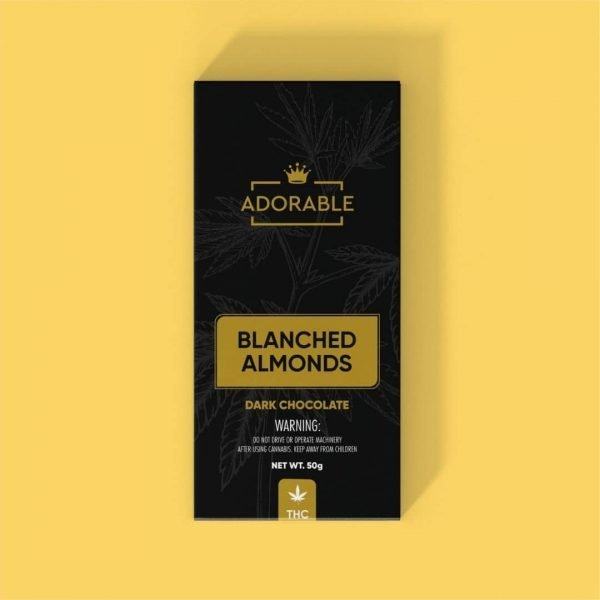 Adorable Chocolates Blanched Almonds Get420Now