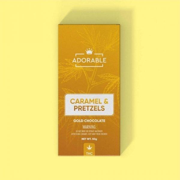 Adorable Chocolates Caramel Pretzels Get420Now