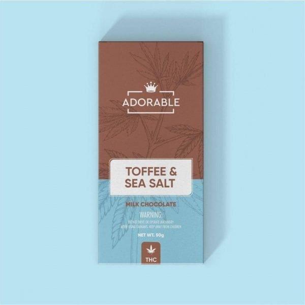 Adorable Chocolates Toffee & Sea Salt Get420Now