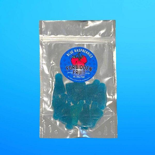 Forbidden Fruit Gummies Blue Raspberry Get420Now