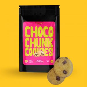chocolate chip THC edible cookies Choco Chunk