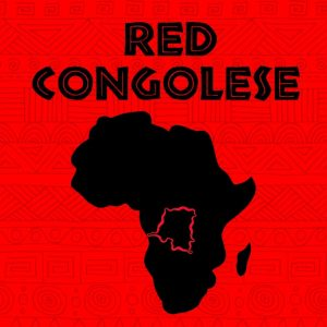 map of Africa with Congo in red Red Congolese strain