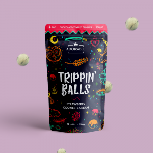 trippin balls edibles gummy chocolates THC vancouver delivery
