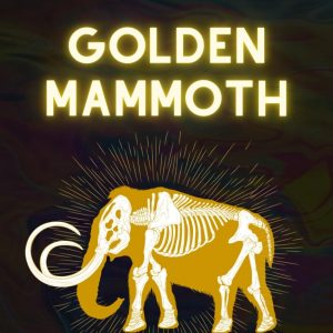 golden mammoth in golden rays for magic mushroon review